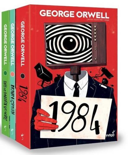 George Orwell Seti - 3 Kitap Takım