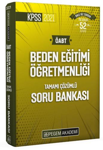 2021 ÖABT Beden Eğitimi Tamamı Çözümlü Soru Bankası