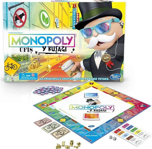 Hasbro Monopoly Y Kuşağı