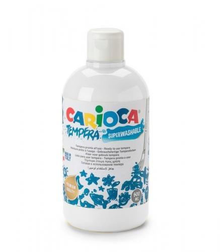 Carioca Guaj Boya Süper Yıkanabilir 250 Ml Beyaz