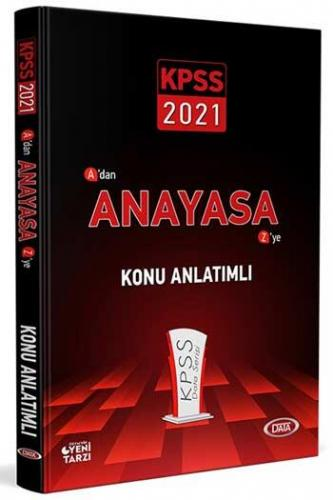 Data Yayınları 2021 KPSS Anayasa Soru Bankası