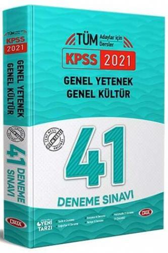 Data Yayınları 2021 KPSS Genel Yetenek Genel Kültür 41 Deneme Sınavı