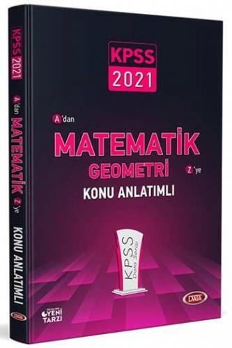 Data Yayınları 2021 KPSS Matematik Geometri Konu Anlatımlı