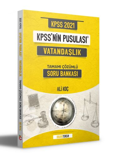Doğru Tercih Yayınları 2021 KPSS'NİN Pusulası Vatandaşlık Soru Bankası