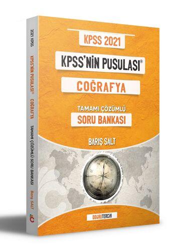 Doğru Tercih Yayınları 2021 KPSS'NİN Pusulası Coğrafya Soru Bankası