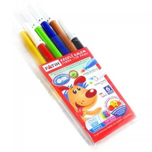 Fatih 6 Renk Keçeli Kalem Takım 34000