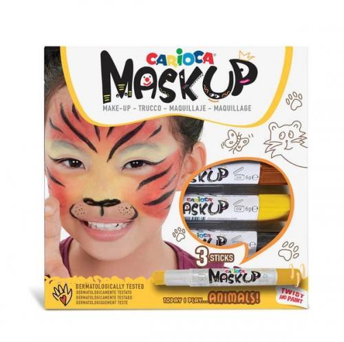 Carioca Mask Up Yüz Boyası Hayvanlar (3 Renk)