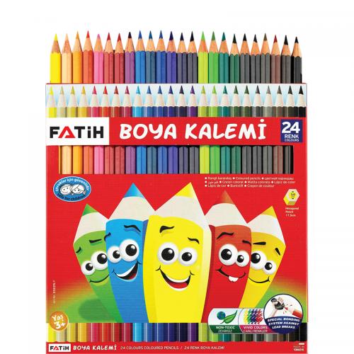 Fatih 24 Renk Tam Boy Kuru Boya 33225