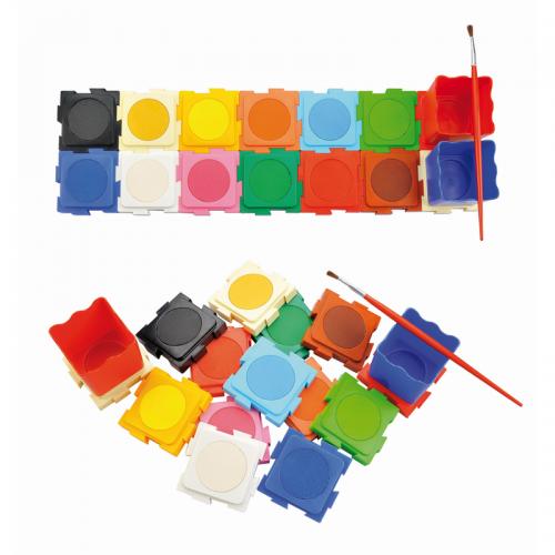 Fatih 12 Renk Su Kaplı Sulu Boya 908