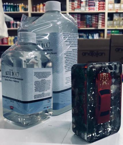 Artdeco Kristal Şeffaf Epoksi Reçine Seti (1000 ml + 500 ml)