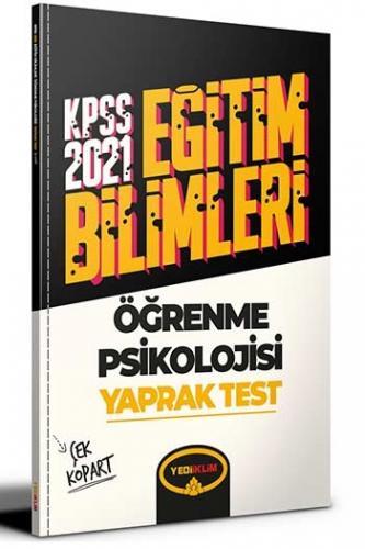 Yediiklim Yayınları 2021 KPSS Eğitim Bilimleri Öğrenme Psikolojisi Çek