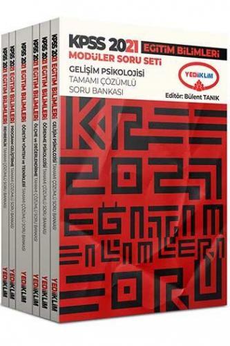 Yediiklim Yayınları 2021 KPSS Eğitim Bilimleri Tamamı Çözümlü Modüle