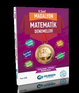 8. Sınıf Madalyon Matematik Denemeleri 20 Deneme