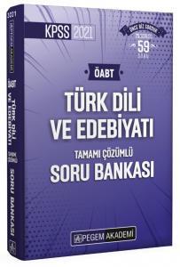 2021 KPSS ÖABT Türk Dili ve Edebiyatı Tamamı Çözümlü Soru Bankası  Pegem Akademi Yayıncılık