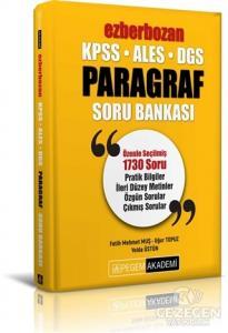 2021 (KPSS-ALES-DGS) Ezberbozan Paragraf Soru Bankası | Pegem Akademi