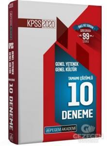 2020 KPSS Genel Yetenek Genel Kültür Tamamı Çözümlü 10 Deneme