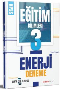 2021 KPSS Eğitim Bilimleri Enerji 3 Deneme Dijital Çözümlü İndeks Kitap *