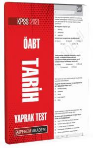 2021 KPSS ÖABT Tarih Yaprak Test