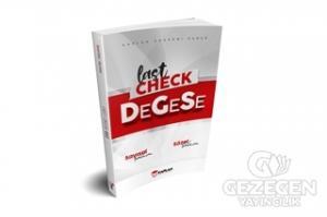 2021 Last Check DEGESE Sınav Öncesi Son Kontrol