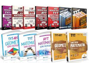 2021 TYT AYT Matematik Geometri Süper Set Benim Hocam Gezegen  Madalyon Yayınları