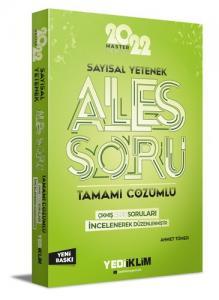 2022 Master Serisi Ales Sayısal Yetenek Tamamı Çözümlü Soru Bankası   Yediiklim Yayınları