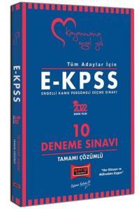 2022 Tüm Adaylar İçin EKPSS Tamamı Çözümlü 10 Deneme Sınavı | Yargı Yayınları