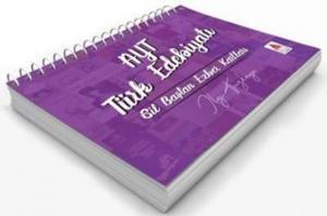 AYT Türk Edebiyatı Sil Baştan Ezber Kartları
