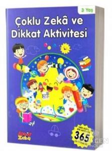 3 Yaş Çoklu Zeka ve Dikkat Aktivitesi - Mavi Kitap