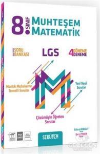 8.Sınıf LGS Muhteşem Matematik Konu Özetli Soru Bankası