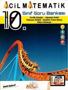 Acil Yayınları 10. Sınıf Acil Matematik Soru Bankası