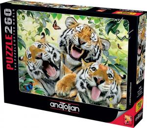 Anatolian Kaplan Selfisi Tiger Selfie 260 Parça Puzzle - Yapboz