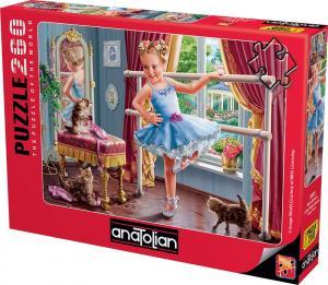 Anatolian Minik Balerin Little Ballet Dancer 260 Parça Puzzle - Yapboz
