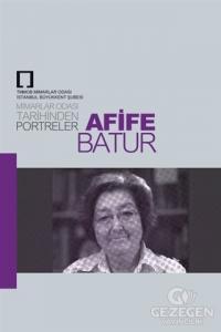 Arife Batur: Mimarlar Odası Tarihinden Portreler