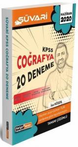 2020 KPSS Süvari Coğrafya Tamamı Çözümlü 20 Deneme