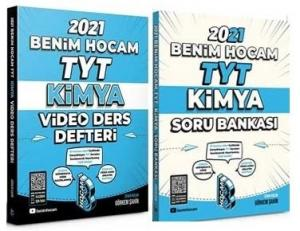 2021 YKS TYT Kimya Video Ders Defteri + Soru Bankası 2 li Set - Görkem Şahin | Benim Hocam Yayınları