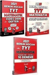 Benim Hocam 2021 YKS TYT Matematik Video Ders Defteri+Soru Bankası+10Deneme 3 lü Set - İlyas Güneş Benim Hocam Yayınları