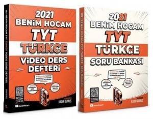 Benim Hocam 2021 YKS TYT Türkçe Video Ders Defteri + Soru Bankası 2 li Set - Kadir Gümüş Benim Hocam Yayınları
