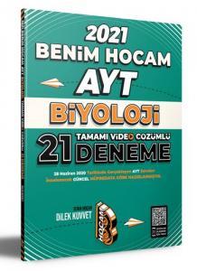 Benim Hocam Yayınları 2021 AYT Biyoloji Tamamı Video Çözümlü 21 Deneme Sınavı