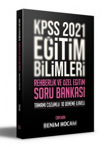 Benim Hocam Yayınları 2021 KPSS Eğitim Bilimleri Rehberlik ve Özel Eğitim Soru Bankası
