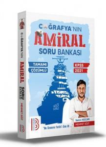 Benim Hocam Yayınları 2021 Kpss Tamamı Çözümlü Amiral Coğrafya Soru Bankası