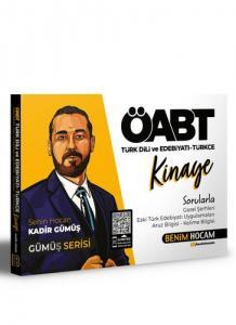 Benim Hocam Yayınları 2021 Öabt Türk Dili Ve Edebiyatı - Türkçe Kinaye Soru Bankası