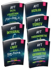 Ekstremum 7 Kitap Set Analitik Geometri-Diziler-Trigonometri-Üstel ve Logaritmik Fonksiyonlar- Türev-Limit-İntegral Konu Anlatım Soru Bankası