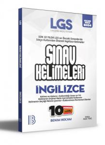 LGS İngilizce Sınav Kelimeleri 10 Deneme İlaveli