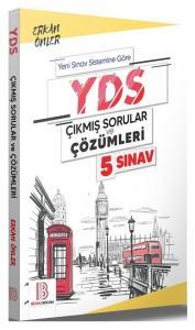 Benim Hocam YDS Çıkmış Sorular 5 Sınav Çözümlü - Erkan Önler Benim Hocam Yayınları