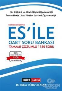 Çözerken Öğreten ES'İle ÖABT Din Kültürü ve Ahlak Bilgisi Tamamı Çözümlü Soru Bankası