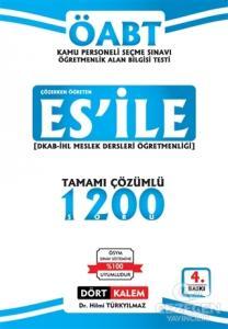 ES'İLE ÖABT Din Kültürü ve Ahlak Bilgisi Çözümlü Soru Bankası