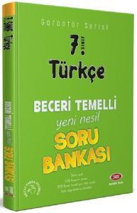 Data 7. Sınıf Türkçe Garantör Beceri Temelli Soru Bankası Data Yayınları