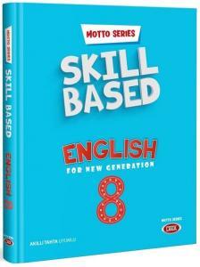 Data 8. Sınıf Motto Series Skill Based English Data Yayınları
