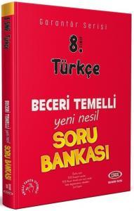 Data 8. Sınıf Türkçe Garantör Beceri Temelli Soru Bankası Data Yayınları