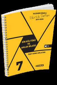 Hız Yayınları 2020 7. Sınıf Din Kültürü ve Ahlak Bilgisi Kazanım Odaklı Etkinlik Defteri Hız Yayınları